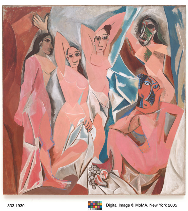 Picasso, Pablo (1881-1973): Les Desmoiselles d'Avignon (Paris, June-July 1907)