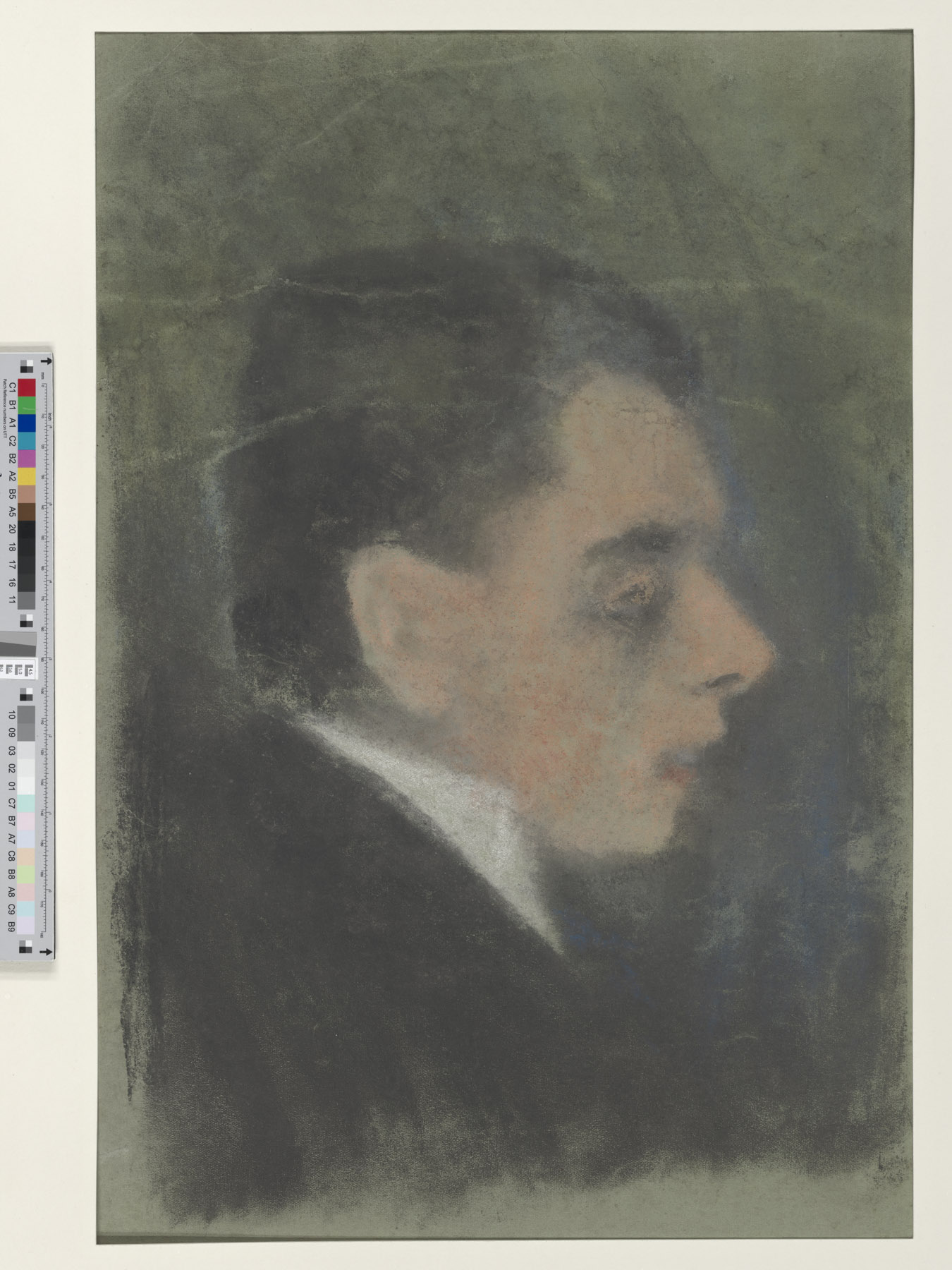 Portrait Study of George Heym, by Ernst Moritz Engert
