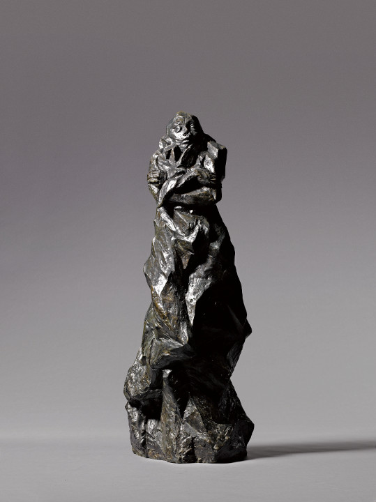 Sculpture by O. Gutfreund,